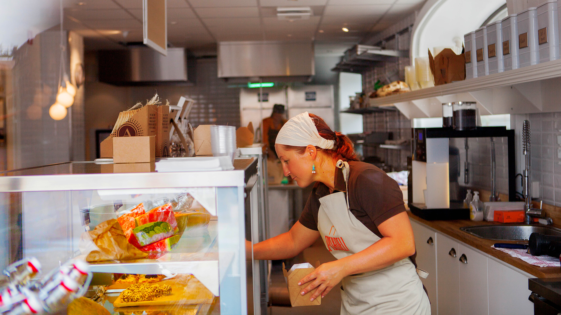 Spis&Deli Behind the Counter
